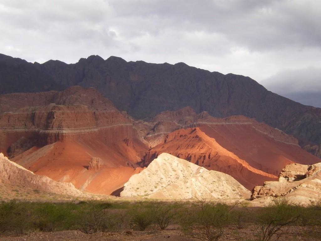 Quebrada las Conchas - Shells Gorge in Northern Argentina