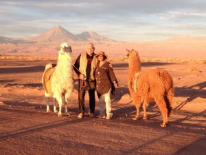 Ancestral Caravan during a regular evening in Atacama Desert