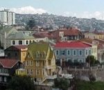 Colorful and Charming hillside in Valparaiso, Chile
