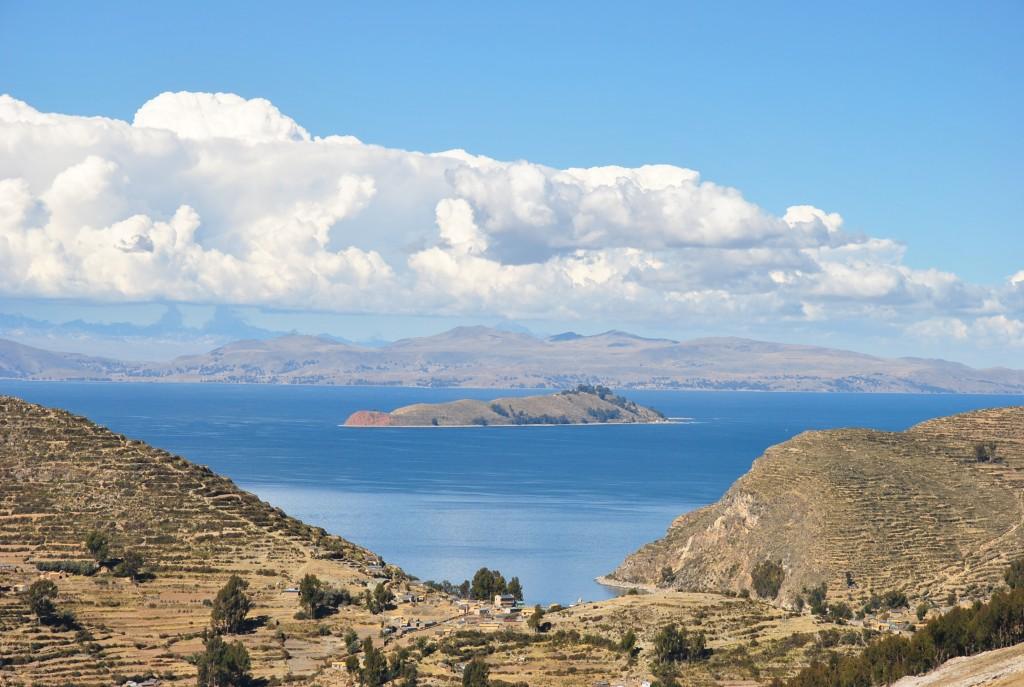 Sun Island and Lake Titicaca