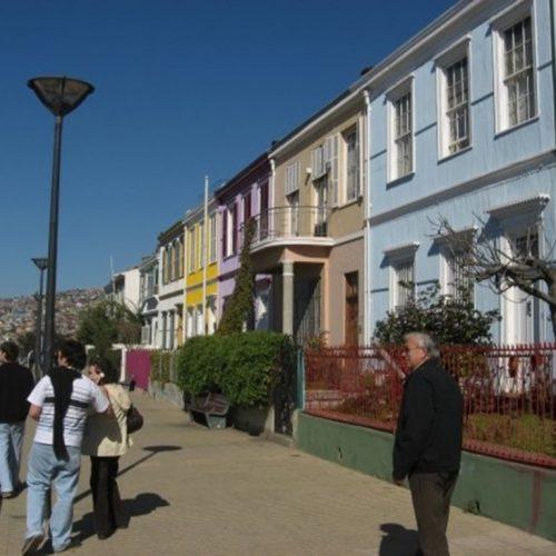 Paseo Atkinson, One of the many alleys in Valparaiso