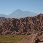 View of the Catarpe valley, just north of San Pedro in Atacama Desert