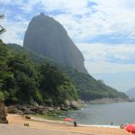The impressive Sugarloaf Mountain in Rio de Janeiro