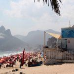 View of Ipanema Beach in Rio de Janeiro, Brazil