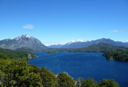 Beautiful landscapes near Bariloche, Patagonia Argentina