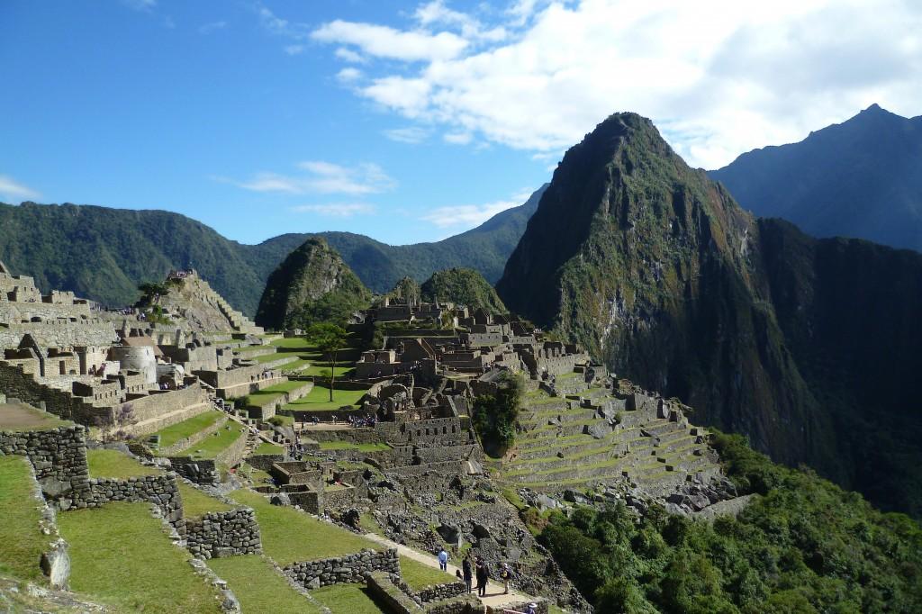 Inside Machu Picchu, near Cuzco, Peru