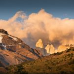 Landscapes in Torres del Paine National Park