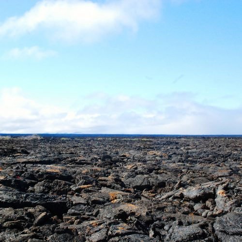 Lava flows in Punta Moreno, Galapagos Islands tour