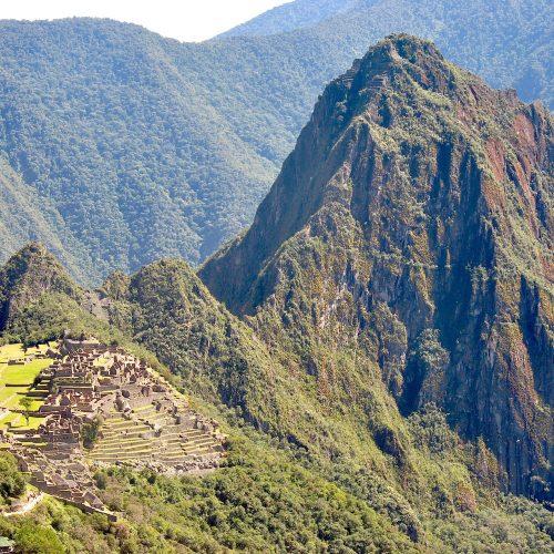 On the way to Machu Picchu, near Cusco, Peru