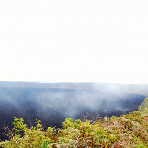 Sierra Negra volcano in the Galapagos Islands, Ecuador tour