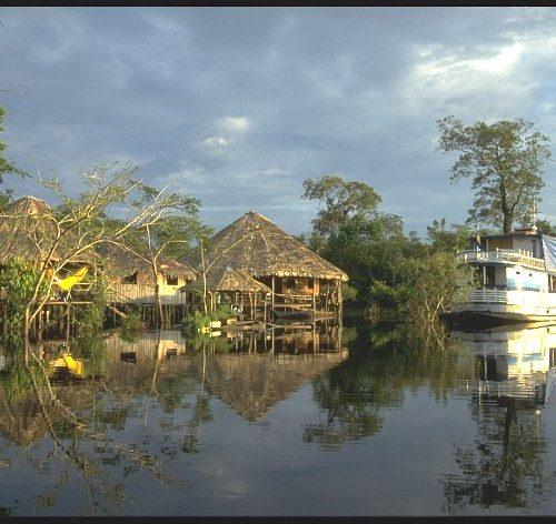 Eco-lodge, Amazon, Brazil