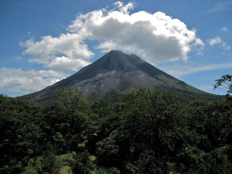 The extraordinary Arenal Volcano, Costa Rica