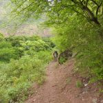 Trekking in the Chicamocha Canyon, Santander, Colombia