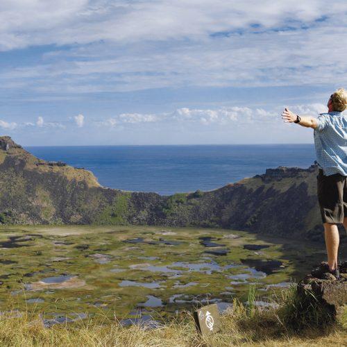 Enjoying Easter Island, Chile