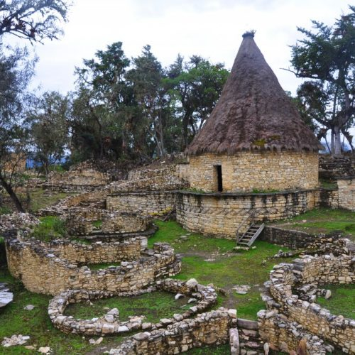 Kuelap fortress. Northern Peru Andes