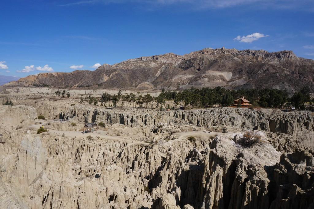 The impressive Moon Valley, near La Paz