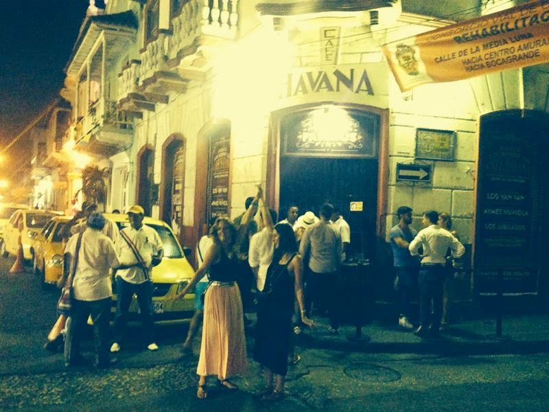 Amazing night of rum and salsa in Cartagena