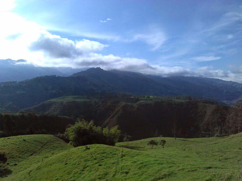 Beautiful landscapes in Salento, Coffee Region