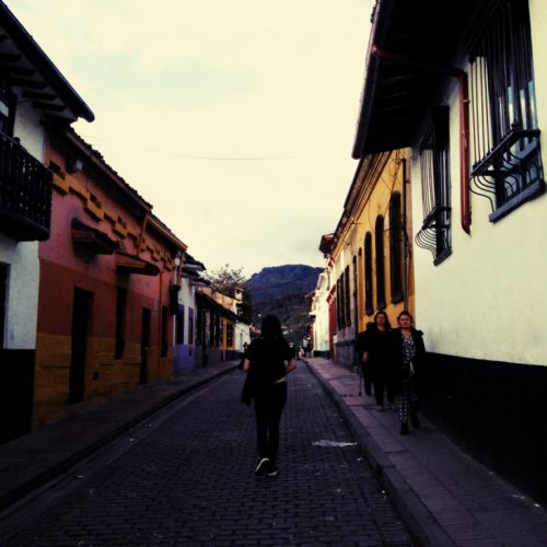 Colonial architecture in La Candelaria, Bogota