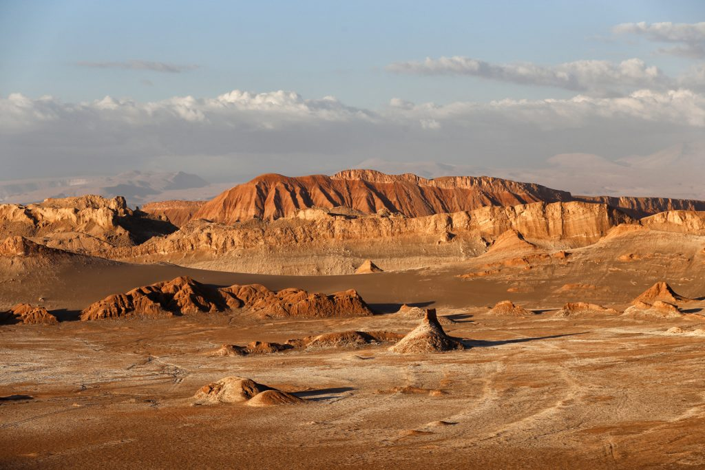 A journey through the Moon Valley in the Atacama Desert
