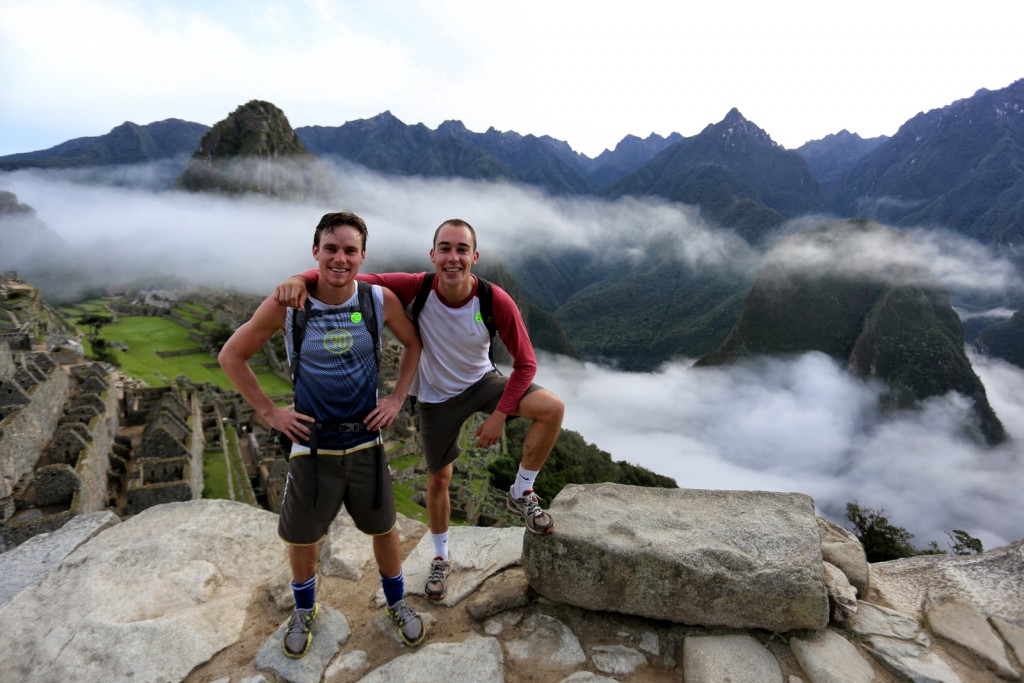 The end of our trip, up Machu Picchu after a brilliant time at the coffee plantations in the mountains nearby