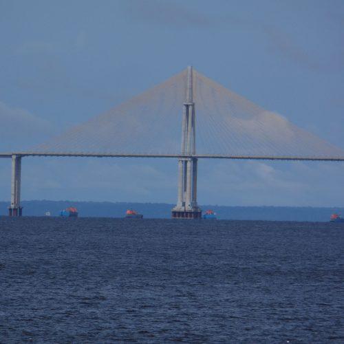The Rio Negro Bridge, Manaus, Brazil