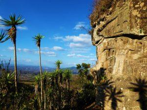 Far-reaching views over El Tisey Natural Reserve from Alberto Gutierrez's sculpture park, Nicaragua
