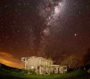 A sky full of stars in Villa Pardo, near Buenos Aires in Argentina