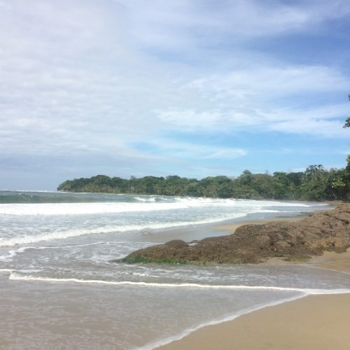 Unspoiled beaches near Puerto Viejo, in the South Caribbean of Costa Rica
