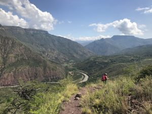 Trekking the impressive Chicamocha Canyon in Colombia